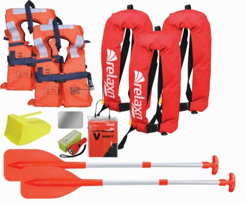 Boating Safety Equipment Boat Safety Kit Marine Safety Gear Kit Adult Manual