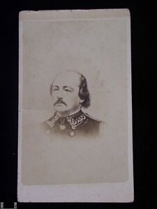 Image Is Loading General Benjamin Butler CDV Carte De Visite Civil