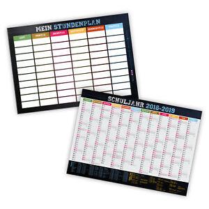 itenga-Stundenplan-Schuelerkalender-2018-2019-DIN-A4-abwischbar-stabil-foliert