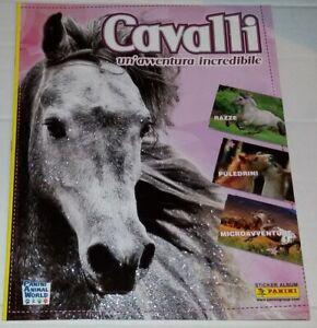 Cavalli-Avventura-Incredibile-Album-Vuoto-Panini-Italia