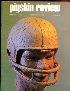 September 19 1970 NCAA Football Program Nebraska vs USC EX