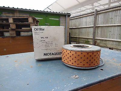 1 pair of Filters VFL125 OIL FILTER ALLEGRO MAXI 2200 RANGE