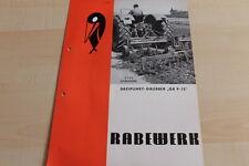 144602) Rabewerk - Dreipunkt-Grubber GR 9 -15 - Prospekt 05/1970
