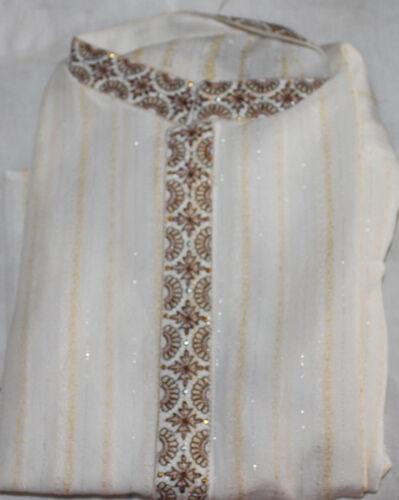 Cream Boys kurta Pajama set Age 1,2,3,4,6,9