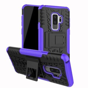 innovative design 5e050 0ea8a Details about Heavy Duty Gorilla ShockProof Stand Case Cover Builder for  Samsung S9 & S9 Plus