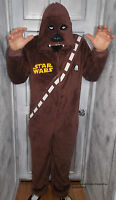 Mens Disney Star Wars Chewbacca Onesie All In One Pyjamas Costume