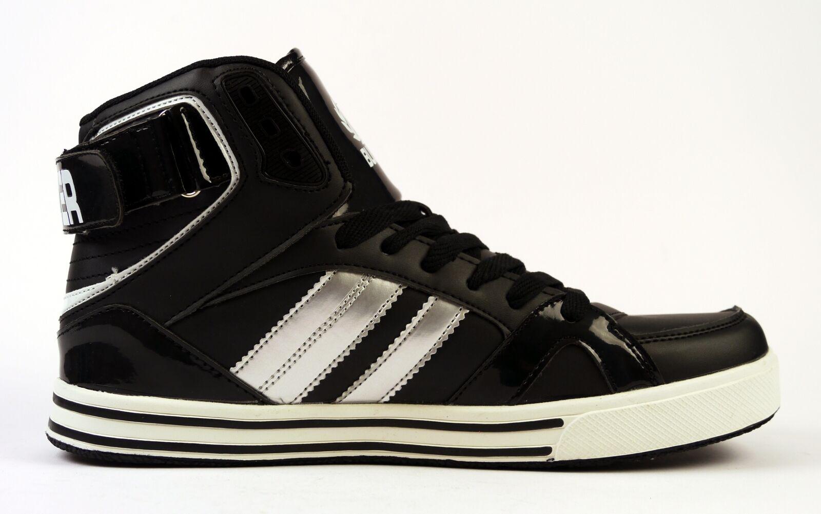 BULLDOZER 8131 Sneaker alta uomo tgl 41 45 classiche Nero NUOVO Scarpe classiche 45 da uomo 66a425