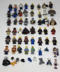 Lego-MiniFigures-Lot-45-Figures-Lego-Friends-Accessories-Some-Unbranded-Etc