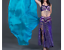 100-Rectangle-Silk-Veils-Plain-Veil-Colours-Belly-Dance miniatura 7
