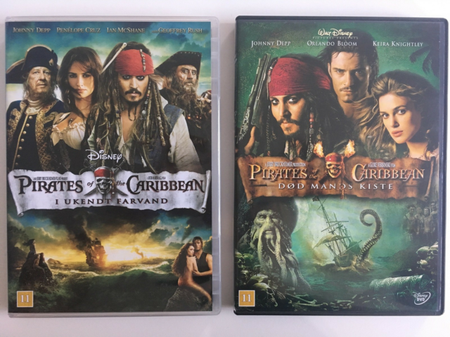 Pirates of the Caribbean, DVD, action, Pirates of the…