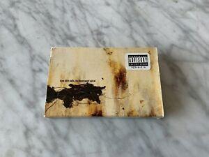 Nine-Inch-Nails-The-Downward-Spiral-CASSETTE-Tape-w-Slipcase1994-Interscope-OOP