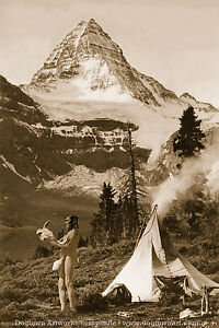 Details about Large Reprint Vintage Native American Photo, Dakota SIOUX  Man, BUFFALO PRAYER