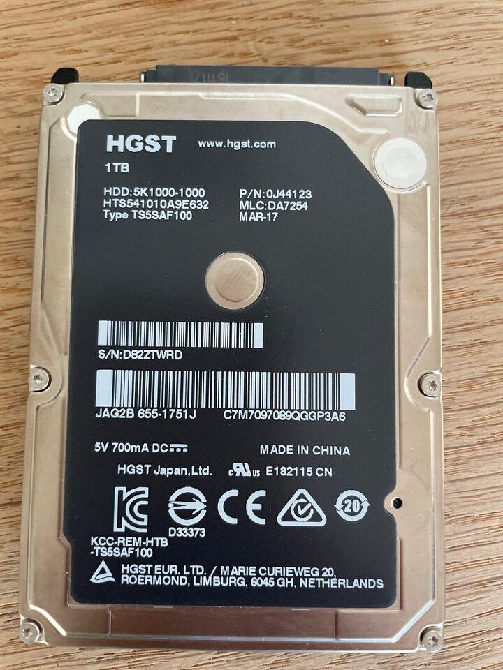 Hgst / apple , 1000 GB, Perfekt