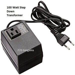 Image Is Loading 220 240 To 110 120 Volt European