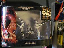 Star Wars Clone Trooper 3-pack Commemorative Episode III DVD Set