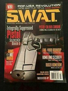K) New S.W.A.T. Firearms Magazine February 2018 .45 ACP Mark IV 22/45 Lite