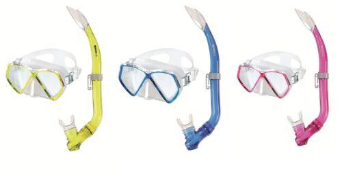 Mares Zephir Jr. Schnorchelset Gelb, Blau oder Pink Junior Urlaubsset für Kinder