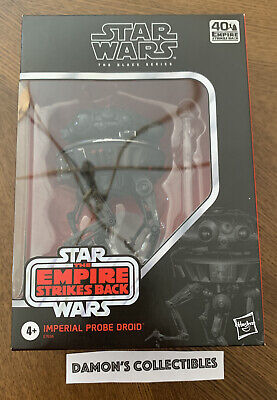 READY TO SHIP IN STOCK STAR WARS Black Series IMPERIAL PROBE DROID ESB 40th