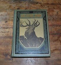 Die hohe Jagd 4 Auflage 1920 Parey Adler Falke Hirsch Gemse Steinbock Buch 059