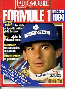 L-AUTOMOBILE-MAGAZINE-Hors-Serie-F1-1994