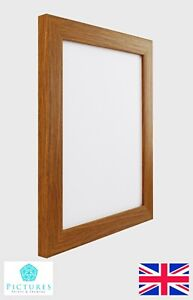Oak-Photo-Picture-Frame-28mm-3x3-3x5-034-3-5x5-034-4x4-4x6-034-5x5-5x7-034-5-5x7-Mount-Glass