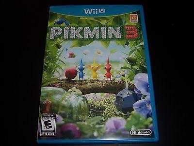 Replacement Case No Game Pikmin 3 Wii U Wiiu 100 Original Box