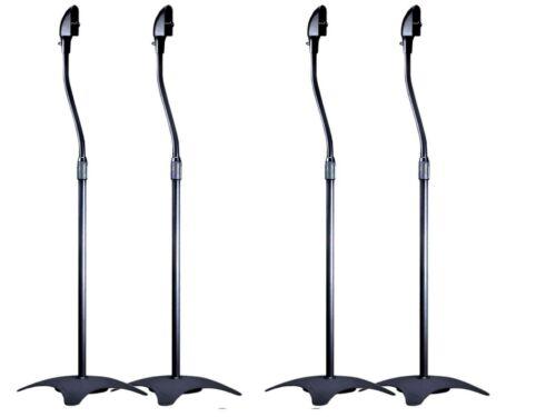 4 NEW BLACK SPEAKER STANDS Polk Audio Surround