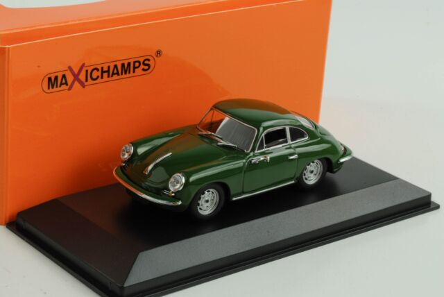 Porsche 356 C Carrera 2 Coupe 1963 Dark Green 1:43 Minichamps Maxichamps