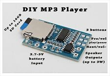 1pc DIY MP3 Player Decoder Board TF Card Slot Decoding  Module Mono Amplifier