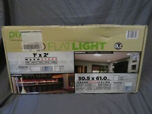 Ft X 2 Warm 2700k Led Flat Light