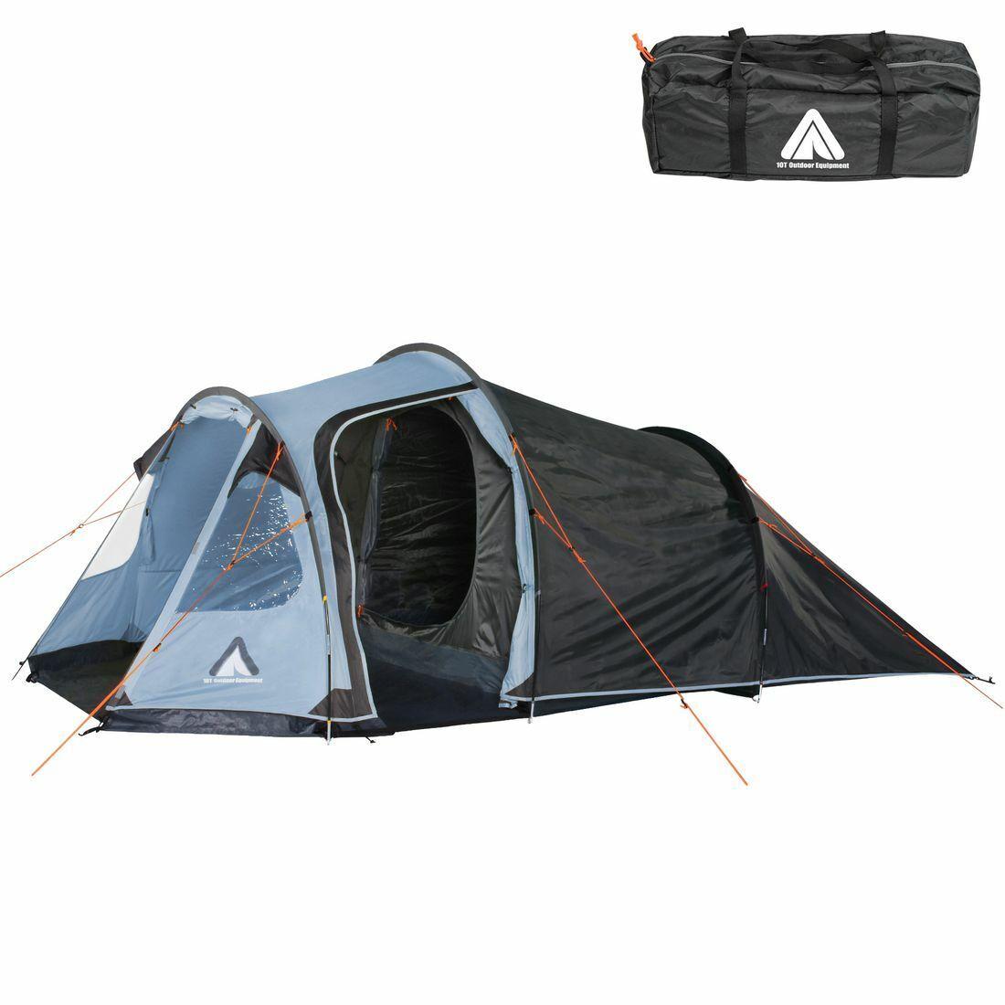 uomodiga Arona 4 persone tunnel tenda da campeggio impermeabile 5000mm