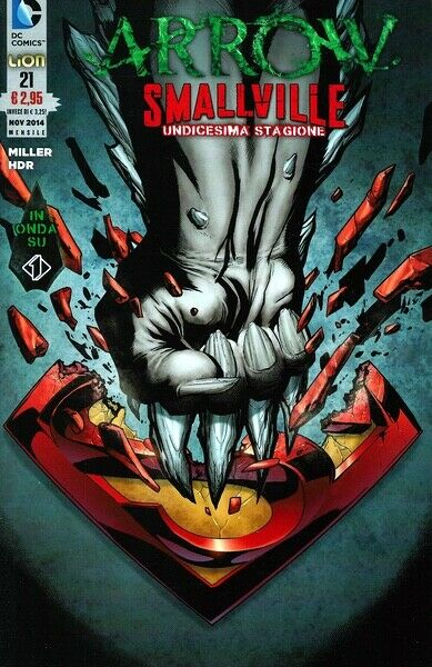 comics ARROW SMALLVILLE Nr. 21 - Edizioni DC Lion
