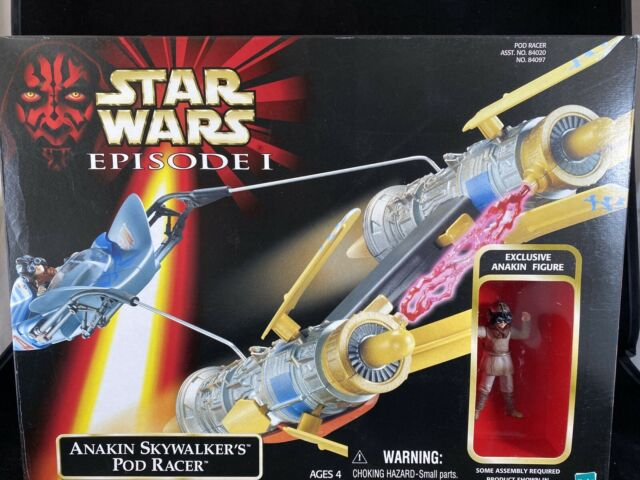 Hasbro 1998 Star Wars Episode 1 Anakin Skywalker Pod Racer i Open Box New R15