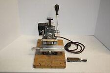 Vintage Kingsley Hot Foil Embossing Heat Press Stamping Machine