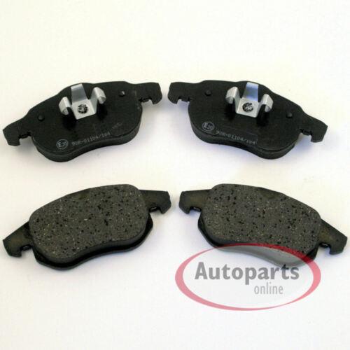 Renault Scenic 3 III Bremsbeläge Bremsklötze für vorne und hinten