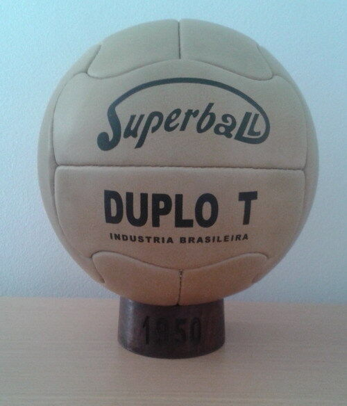 OFFICIAL MATCH BALL 1950 WORLD CUP IN BRAZIL. SUPER DUPLO T (Pre- adidas balls)