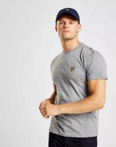 Lyle-amp-Scott-Crew-Neck-Short-Sleeve-T-Shirt-Grey-XL-TD093-ZZ-13