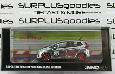 1:64 inno64 Honda FIT 3 RS Special for Shizuoka Hobby Show 2019 Sunset Orange