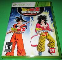Dragon Ball Z: Budokai Hd Collection Xbox 360 Factory Sealed Free Shipping