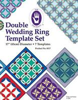 Marti Michell Double Wedding Ring Template, New, Free Shipping