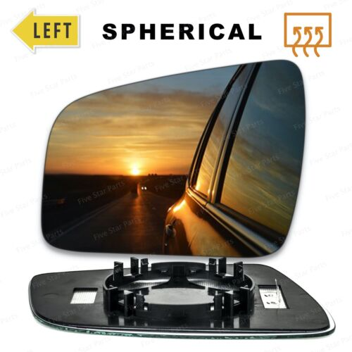 Cristal espejo de ala izquierda del lado del pasajero para Vauxhall Zafira B 09-14 calentado