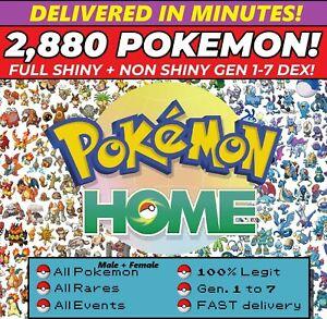 Pokemon-Home-2880-Pokemon-COMPLETE-Gen-1-7-FULL-LIVING-DEX-Legendary-ALL-Forms