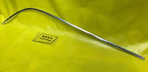 2 neue Chromecken für Türverkleidung Opel Olympia Rekord-56 57