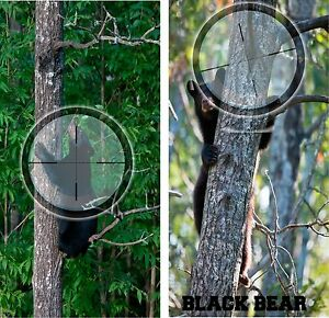 Black Bear Hunting Corn Hole Game Board Baggo Bag Toss 3M Vinyl Decal Set