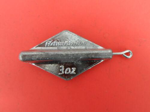 environ 85.05 g Finn plomb levage Plain Sea Fishing Weights x 5 Sea Fishing Tackle 3 oz