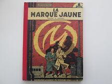 BLAKE ET MORTIMER EO1956 LA MARQUE JAUNE TBE EDITION ORIGINALE SANS POINT TINTIN