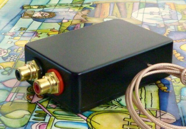 Step Up Transformer SUT 1:5 for MC-Cartridges 0.7-1.7 mV High-End