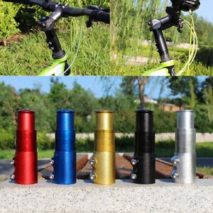 Bicycle Handlebar Fork Stem Extender Riser Head Adapter Modified Split Riser