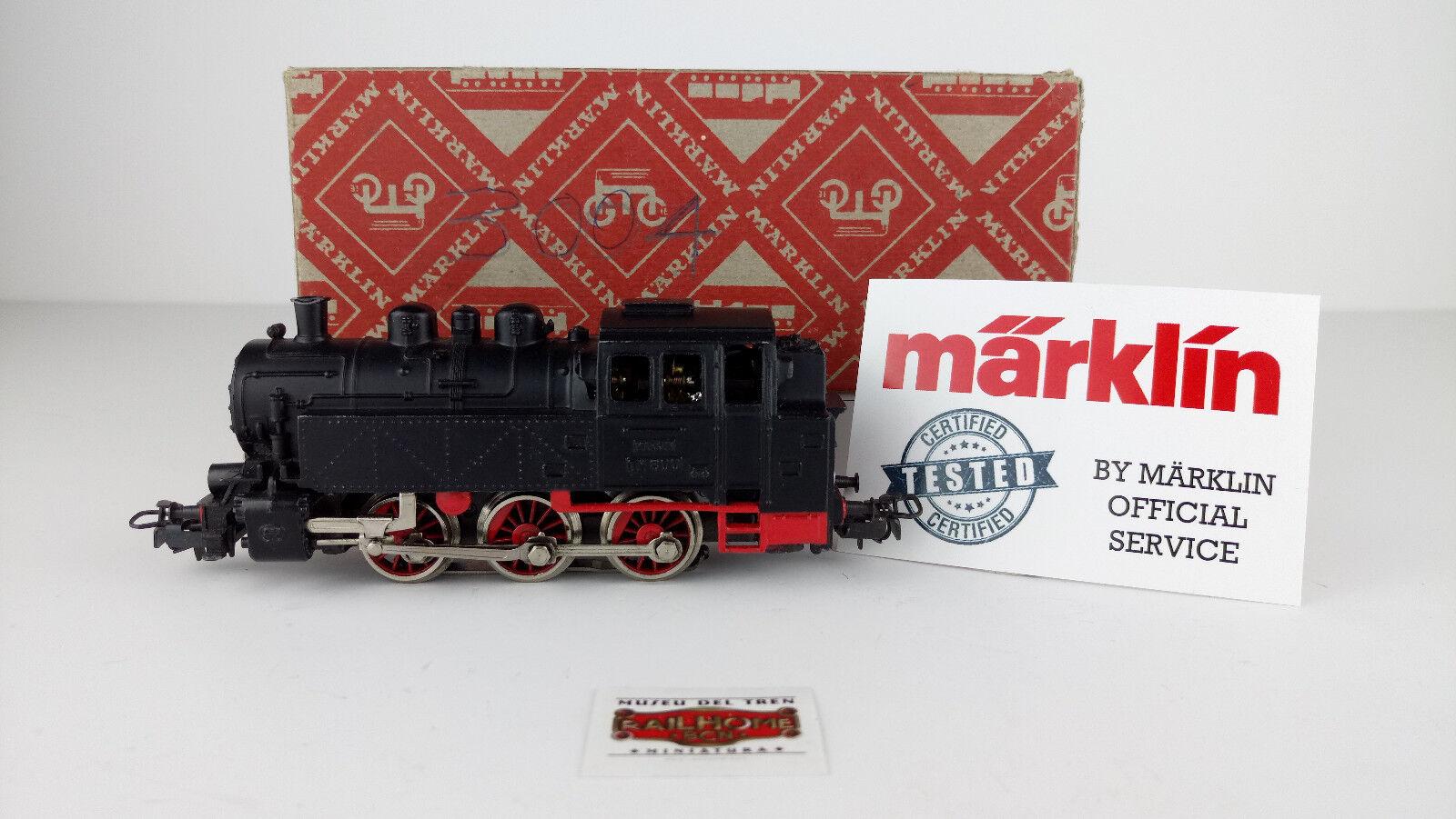 MARKLIN H0 3004 - TENDERLOK BR80 - TESTADO - MUY BUEN ESTADO - OVP
