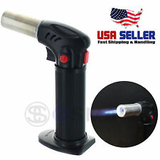 Culinary Multi Purpose Food Torch Lighter Kitchen Creme Brulee Cooking w/ Stand